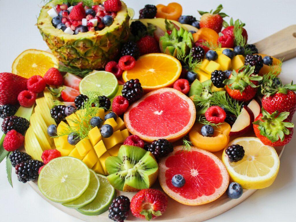 Groenten en Fruit Plank